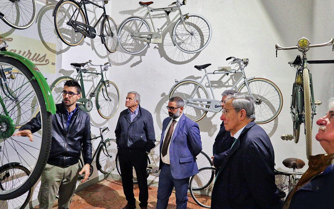 Ing. Mauro Forghieri della Ferrari in visita al Museo (15/10/2019)